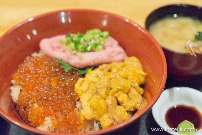 LifeTeria ブログ 海鮮丼 Vinegar