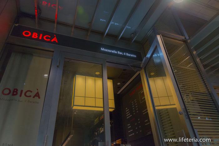 LifeTeria ブログ オービカ モッツァレラバー 東京ミッドタウン店