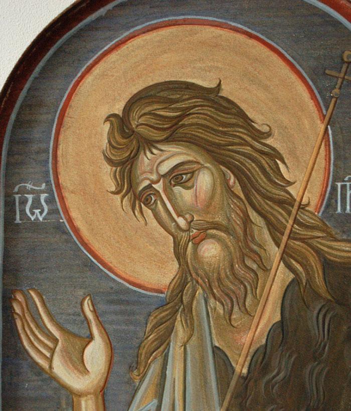 Фреска Иоанн Предтеча