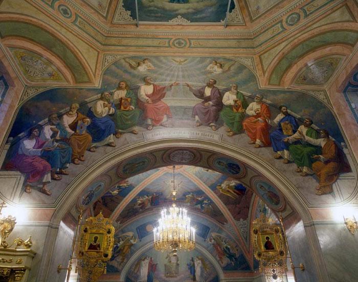 Роспись храма Святой Софии, мастеркая Апостол