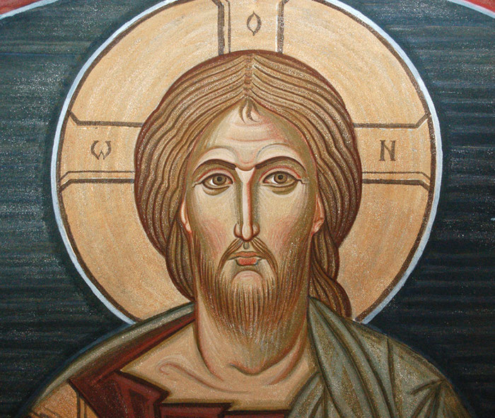 Фреска, мастерская Апостол
