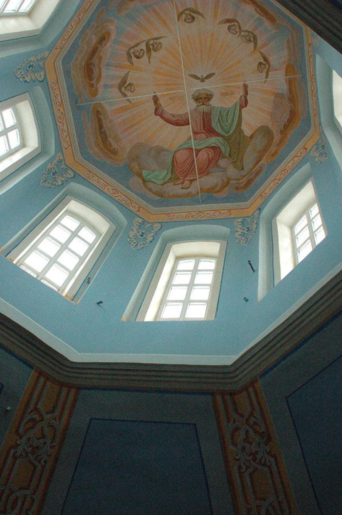 фреска, роспись храма, мастеркая Апостол