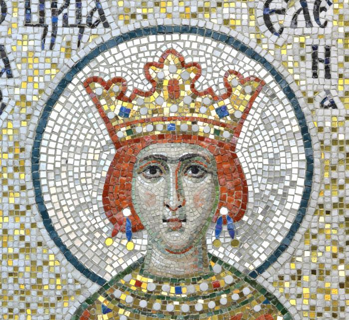Мозаика Святая царица Елена