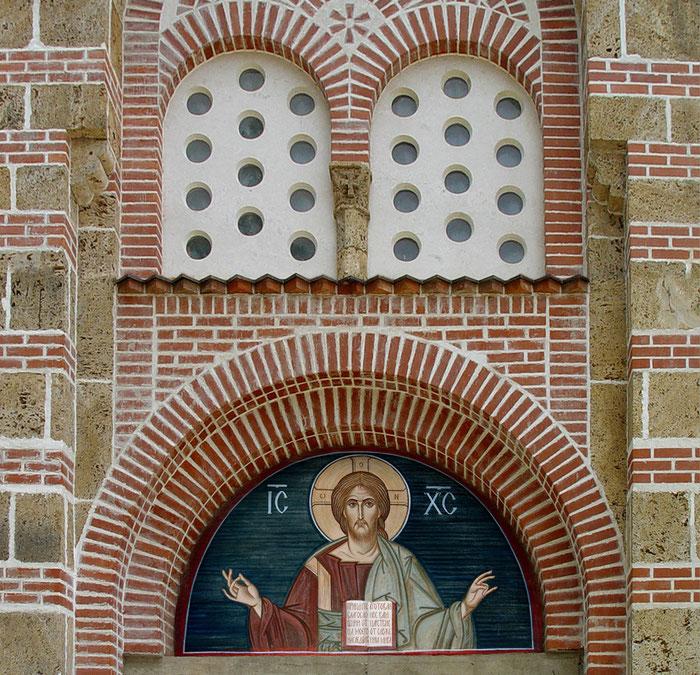 фреска Господь Вседержитель