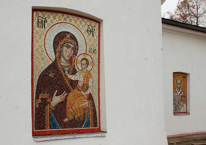Мозаика Богородица Одигитрия