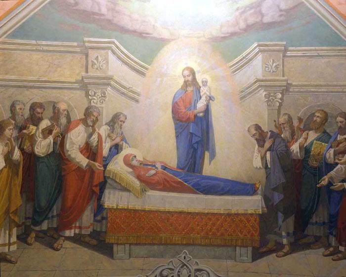 Роспись храма Святой Софии, стенописная мастерская Апостол