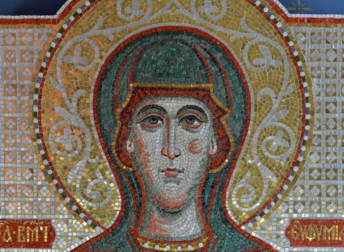 Мозаика Евфимия Всехвальная