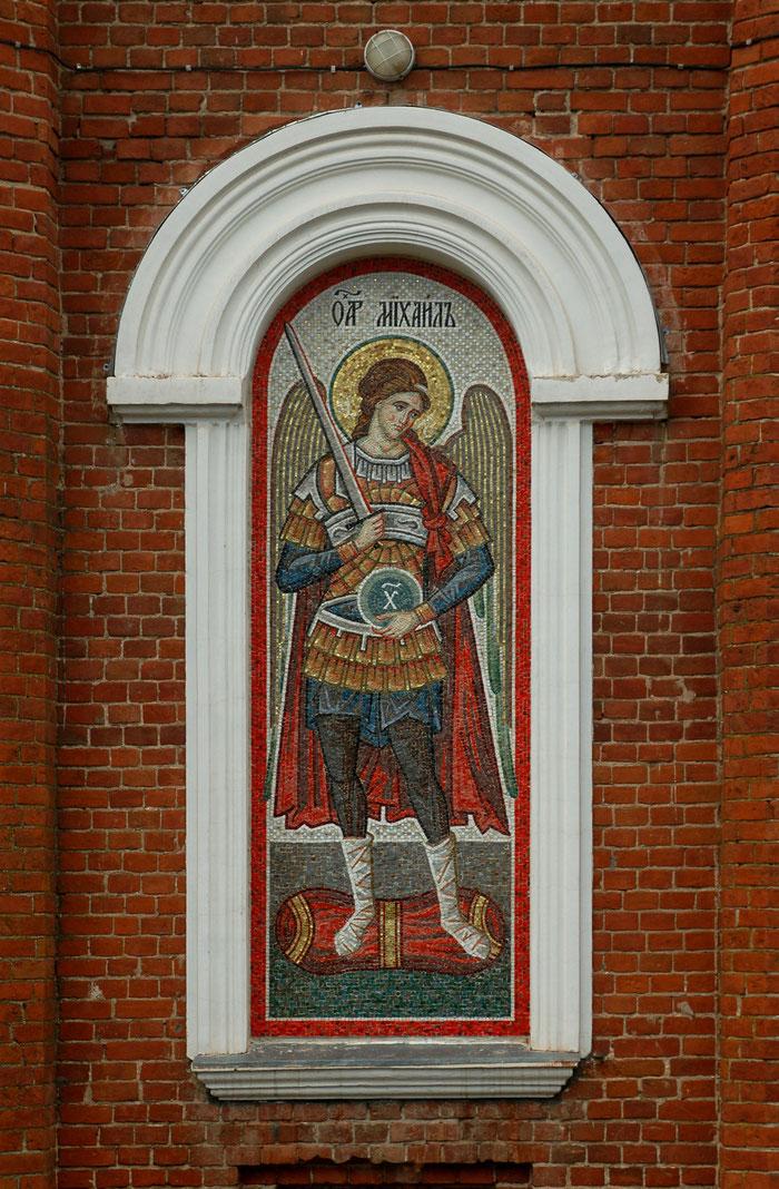 Мозаика архангел Михаил