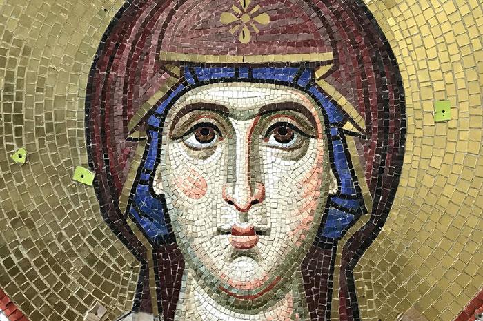 мозаика Покрова Богородицы