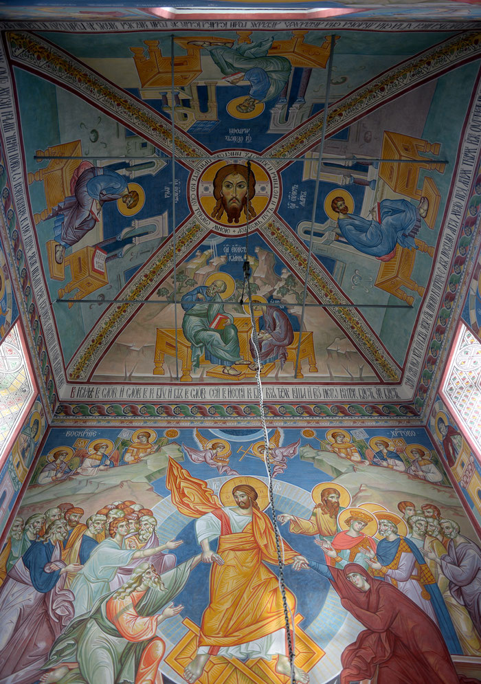 Роспись Димитриевский храм