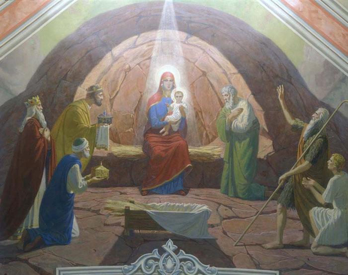 роспись храма Святой Софии, мастерская Апостол