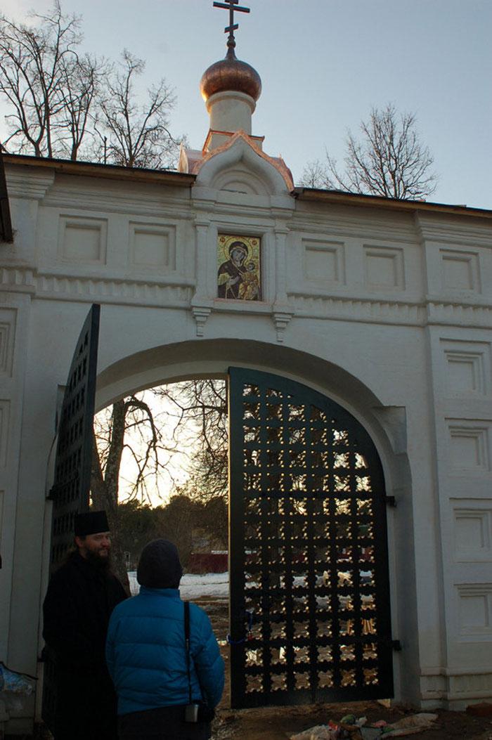 Спасский монастырь Верея, Московская область