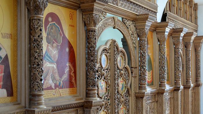 иконостас, мастерская Апостол