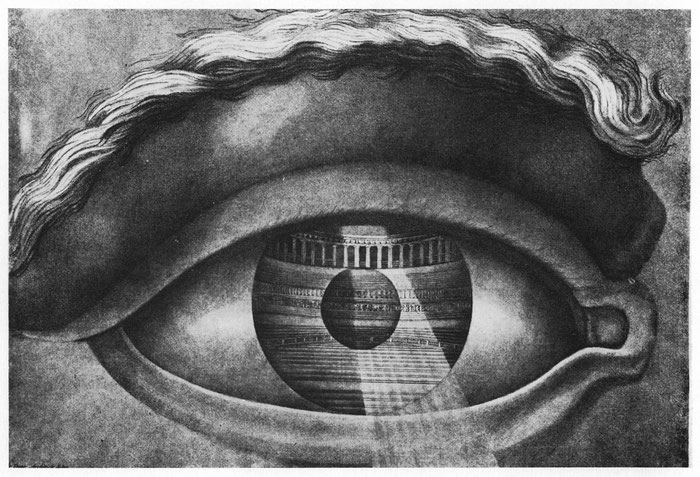 "Claude Nicolas Ledoux, ""Eye enclosing the theatre at Besancon""(1847)"