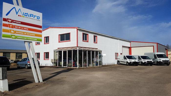 Société MidiPro spécialiste professionnel, distributeur de produits d'entretien, d'hygiène et d'emballages