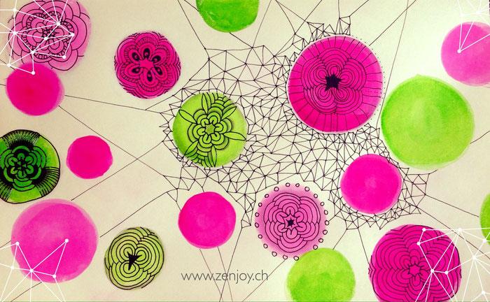 Tangle Pattern Tizzy by Zenjoy
