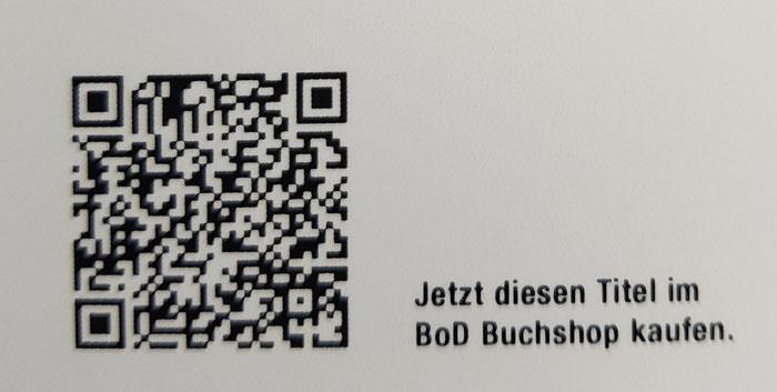 Einfach scannen und für 9,90 € bestellen. Auch als E-Book für 3,99 € erhältlich!