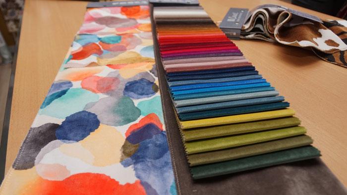 marylinegrac- tapissier d'ameublement- Tissus d'ameublement FROCA pour fauteuils et chaises