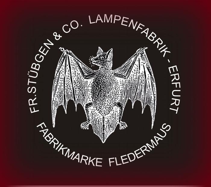 FR. STÜBGEN & COMPANY, ERFURT -FLEDERMAUS - BAT KEROSENE LANTERNS