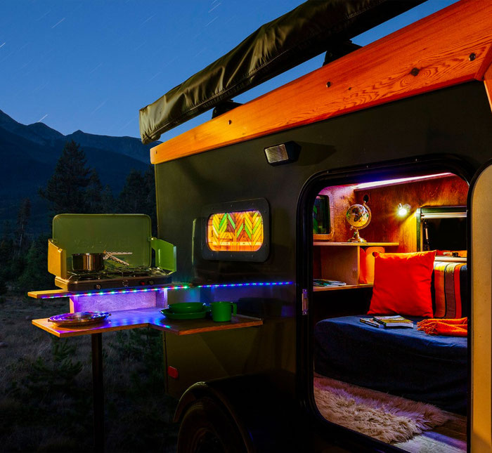 SKYVIEW CAMPERS BY NEVERSUMMER INDUSTRIES