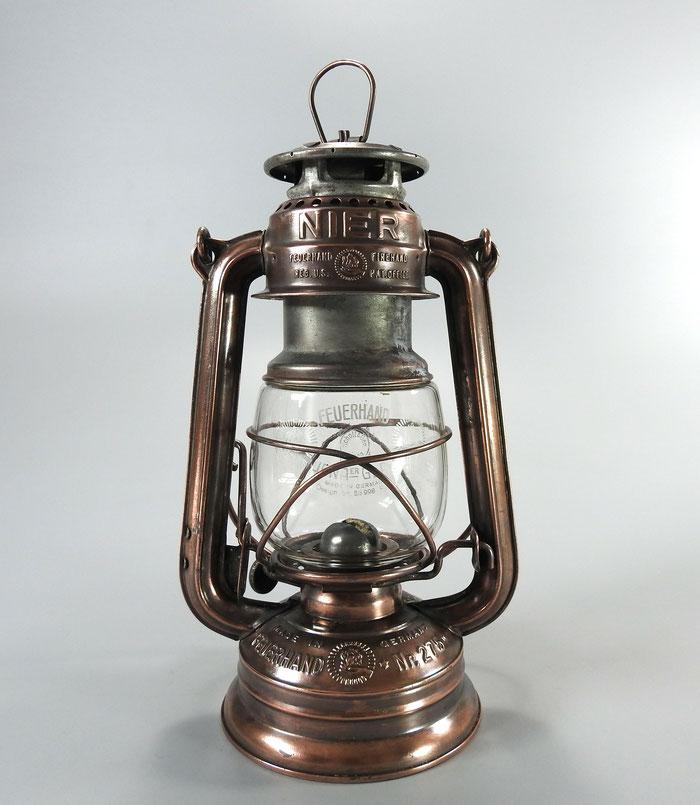 Feuerhand Nr. 275 1930's Copper - Kupfer plated Pre-war Kerosene lantern