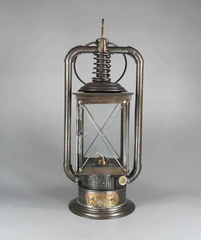 KAESTERN & TOEBELMANN - DR PATENT 3269 - 4 Glass paneled Lantern