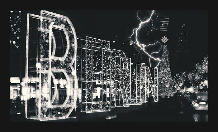 Berlin Kurfürstendamm zur Weihnachtszeit