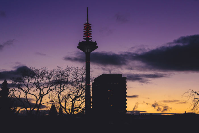 Frankfurt am Main - Sonnenuntergang
