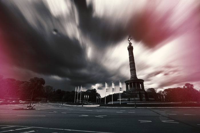 Langzeitbelichtung Siegessäule Berlin