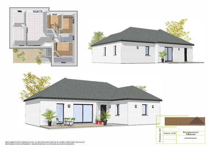 Maisons Kernest, le constructeur pour construire votre maison sur un terrain à Saint-Perreux (56350)
