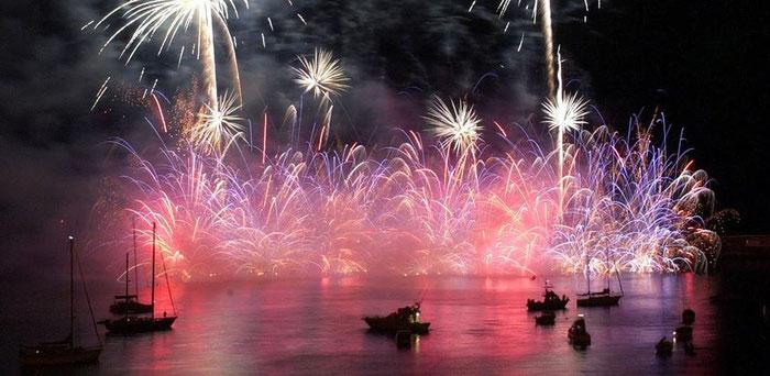 Feuerwerk in Madeira - Foto Hotel Rocamar