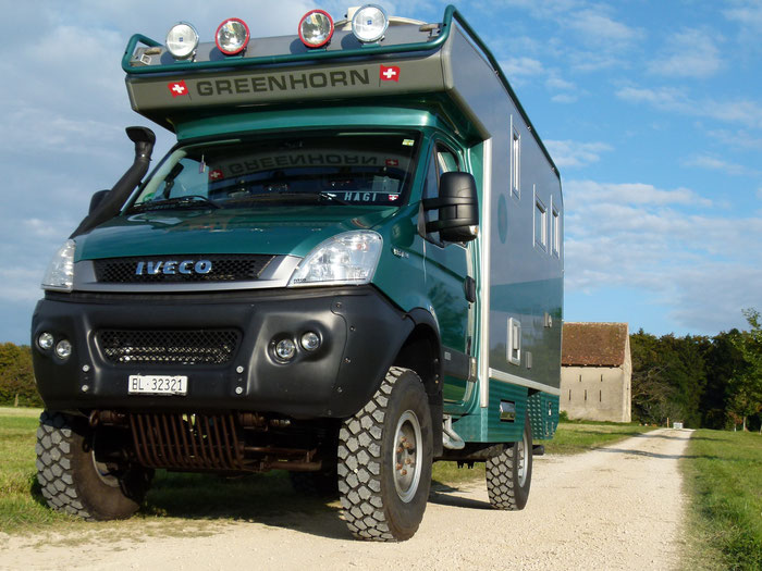 Iveco 4x4 Hagis-on-Tour