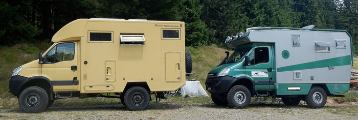 Iveco 4x4 Expeditionsmobile