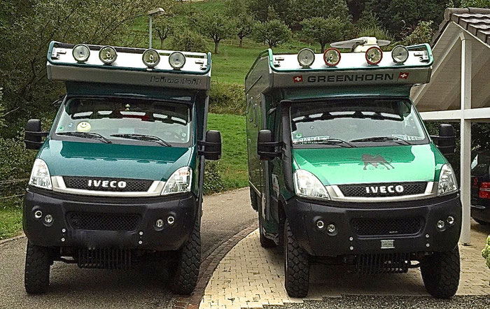Iveco 4x4 Expeditionsmobil Greenhorn