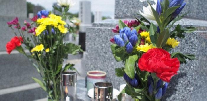 お墓のイメージ写真です。