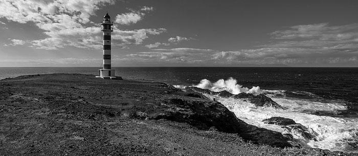 Leuchtturm Faro Sardina auf Gran Canaria. Foto: Klaus Schörner