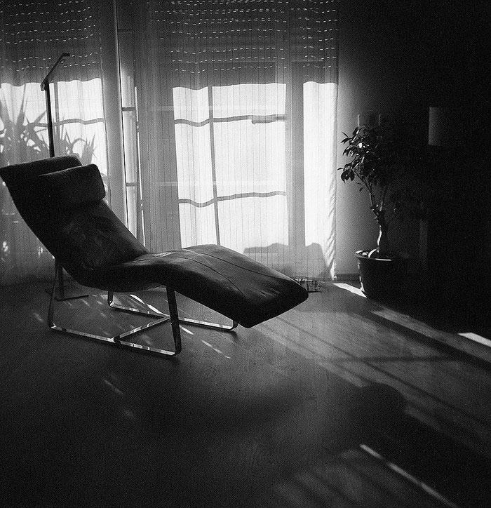 PURMA SPECIAL im Praxistest: Interieur-Foto bei Gegenlicht. Foto: Dr. Klaus Schörner
