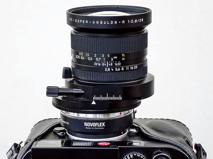 Erfahrungsbericht: PC Super Angulon 2,8/28 mm mit Novoflex-Adapter für Leica R an LEICA M