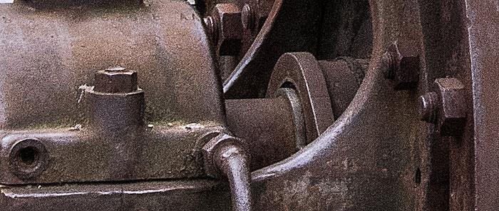 Praxistest NIKON D850, AF-S 24-120 mm 1: 4, Landschaftspark Duisburg, Turbine, Detail geschärft. Foto: bonnescape