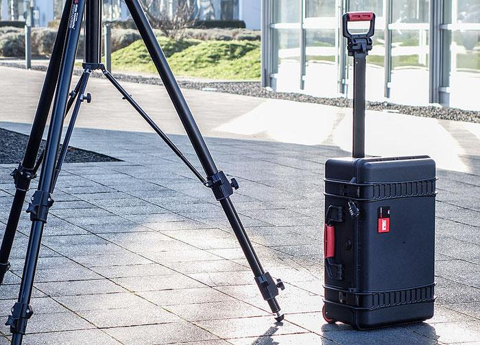Erfahrungsbericht: Der HPRC 2550W Hartschalenkoffer beim Architektur-Fotoshooting. Copyright 2017 by Dr. Klaus Schörner