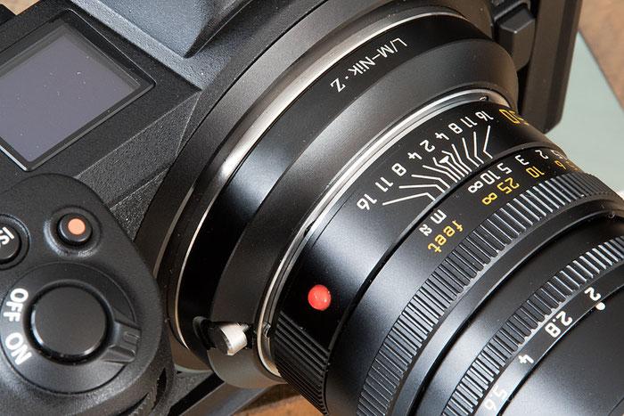 Praxistest ZEISS ZM und LEICA M Objektive an der NIKON Z7 Z6, Ocamo-Adapterring. Foto bonnescape.de