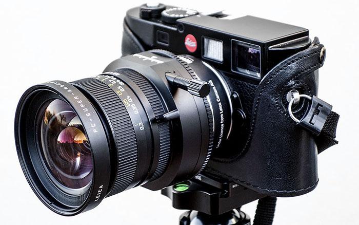 Erfahrungen mit der Leica M9 mit Shift: das PC-Super-Angulon 28 mm mit Novoflex-Adapter. Foto: Klaus Schoerner