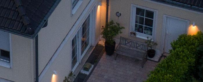 100% Crop, Drohnenfoto Wohnhaus, Foto: bonnescape