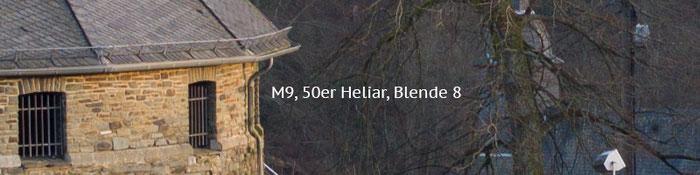 Praxistest Voigtländer Heliar 3,5/50 mm VM, Testmotiv Burg, 100%-Crop bei Blende 8, Foto: Klaus Schörner