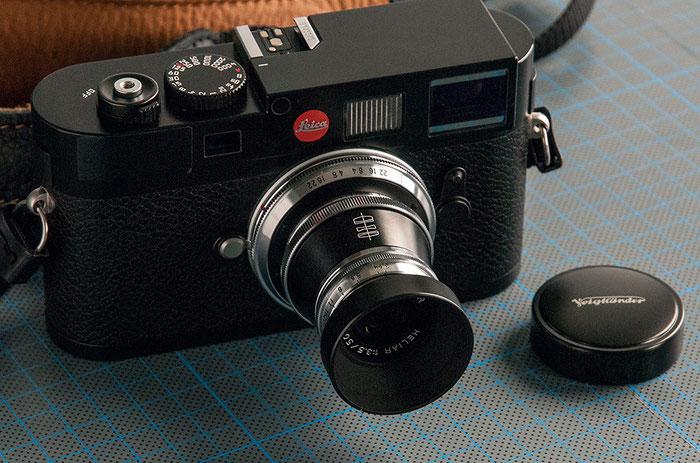 Praxistest Voigtländer Heliar 3,5/50 mm VM, das Heliar an der LEICA M9, Foto: Klaus Schörner