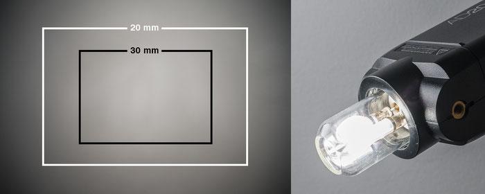 Test Godox AD200Pro, Lichtwirkung mit nackter Blitzröhre, Foto: bonnescape.de