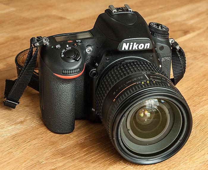 Im Test: NIKON D750 mit dem Nikkor AF 24-85 mm, 1:2,8-4. Foto: bonnescape