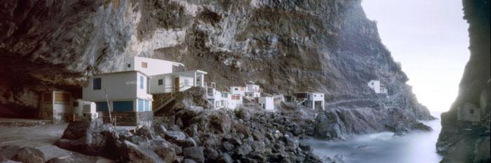 Porís de Candelaria, Tijarafe, La Palma, Pinhole-Fotografie mit der RealitySoSubtle 6x17cm Lochbildkamera, Praxisbericht Dierk Topp, www.bonnescape.de