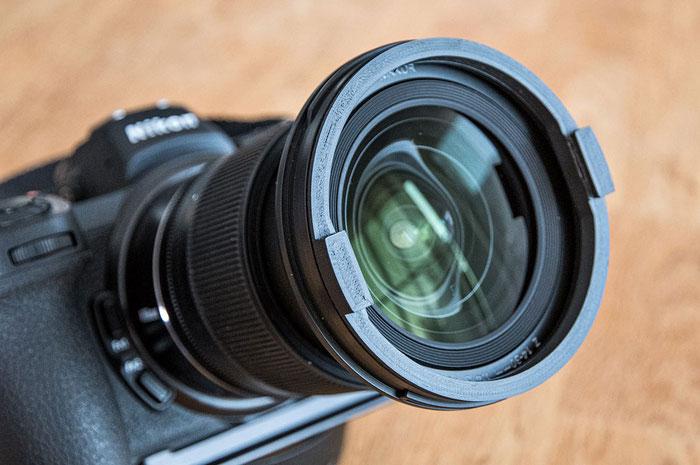 Neuheit: Mini-Filterhalter für das Nikon Z 14-30mm/4 S von filterfotografie.com, Foto: bonnescape
