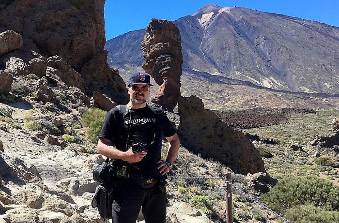 Wandern mit angemessener Ausrüstung im Teide Nationalpark. Foto: Dalyani Schoerner